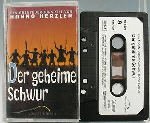 HÖRSPIEL - Der geheime Schwur - Schulte & Gerth - MC - Hanno Herzler - 964804