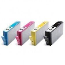 4 CHIPPED INK CARTRIDGES FOR HP 364 5510 5515 C309a C410 B109a B110a B209a B21