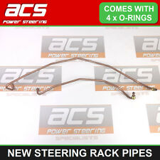 RENAULT TRAFIC MK2 POWER STEERING RACK PIPES 2001 TO 2013 - NEW