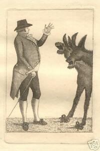 "John Kay, ""Politician"", British, 18th C, Original Etching"