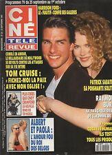 CINE REVUE 1993 N°38 tom cruise raymond burr france gall michael jackson