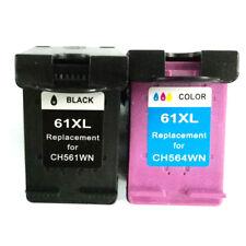 Reman Ink Cartridge for HP Deskjet 3000 3050 3050A 3051A 3052A (1 Black 1 Color)