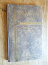 More details for vintage book new wolseley ten instruction manual 92 pps