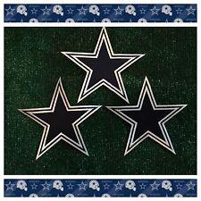 "Dallas Cowboys TX NFL Football Sew/Iron-on BIG 7"" Star Emblem Logo LOT 3 Patches"