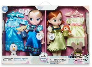Anna and Elsa Singing Dolls Deluxe Gift Set - Disney Animators' Collection