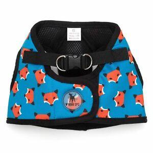 THE WORTHY DOG Sidekick Printed Foxy Dog Harness Sizes XXS-XXXL