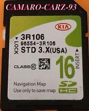 2015 2016 KIA SEDONA GPS MAP SD Data CARD 16GB GPS 96553-A9100 * NAVIGATION SDHC