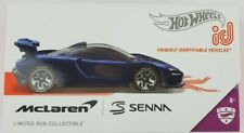 Hot Wheels ID McLaren Senna Limited Edition 1/64 Series 2