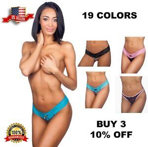 Honeydew Intimates Ladies Various Assorted Low Rise Mesh Thong Underwear Panty