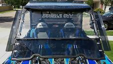 *AR2* HARDCOAT POLARIS RZR 1000 SPLIT/FULL WINDSHIELD w/GP TINTED HALF