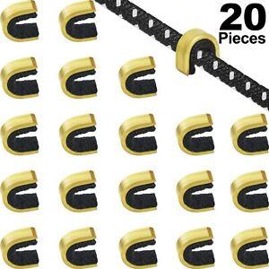 20 Pcs Nock Points Archery String Nocking Points Bow String Buckle Clip
