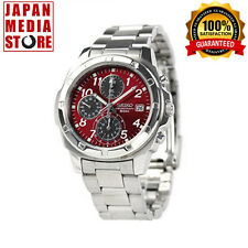 Seiko  Chronograph RED SND495P1 SND495 SND495P 100% Genuine product from JAPAN