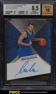 2018 Panini Revolution Luka Doncic ROOKIE RC AUTO #3 BGS 8.5 NM-MT+