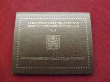 *Vatikan 2 Euro Gedenkmünze 2011 * Weltjugendtag