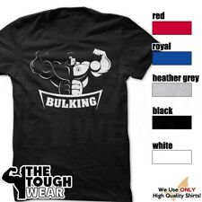 BULKING Gym Rabbit T Shirt 5 colors Workout Bodybuilding Fitness Lifting D378