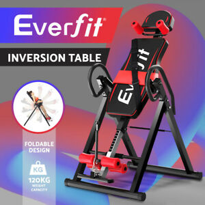 Everfit Inversion Table Gravity Tables Stretcher Inverter Foldable Home Fitness