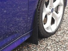 Mud Flaps FORD FOCUS MK3 MK3.5 ZETEC Mudflaps Kit rallyflapZ Black 4mm PVC