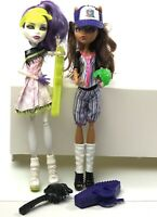 Monster High Sports Doll Ghoul Sports Baseball Clawdeen Wolf And Tennis Spectra