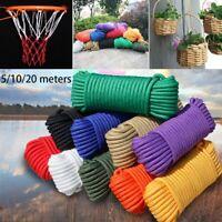 3mm 10 Colors Parachute Cord Lanyard Tent Ropes Paracord 550 Rope Survival kit