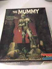 "1983 Vintage ""THE MUMMY"" Glow in the dark, Monogram Model Kit *unbuilt*"