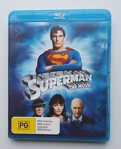 Superman The Movie (1978) Bluray - GREAT CONDITION, DISC HAS NEVER BEEN PLAYED
