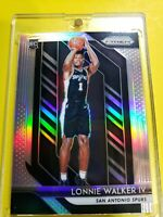Lonnie Walker IV 2018 Panini Prizm SILVER PRIZM 251 RC True Rookie Card 🔥 Spurs