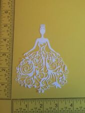 16 Tattered Lace Bella  - Cardstock Die Cuts - Card Toppers - Embellishments