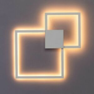LED Wall Mounted Lamp Light Round/Square Room Decor Creative DIY Pattern Fixture