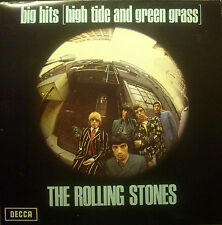 LP Rolling Stones-Big Hits (High Tide.........), insert, foc, NL TXS 101