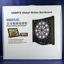 VDarts H2 Global Online Electronic Soft Tip Dartboard - Free Shipping!