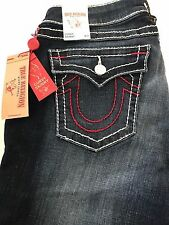 NWT TRUE RELIGION CURVY SKINNY FLAP BIG T WOMENS JEAN - Sz32  $218.00