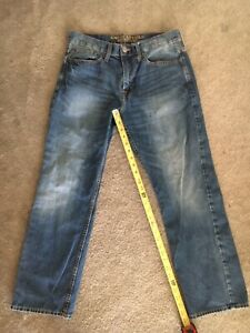 Men's AMERICAN EAGLE Jeans Size 31x30 Relaxed Straight