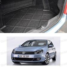 1x Black Car Boot Cargo Mat Trunk Liner Tray for VW Golf MK6 2009-2012 10 11
