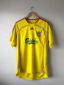 Liverpool Away Shirt 2006-2007 Adidas Large
