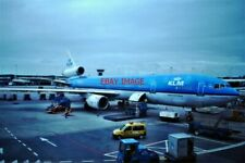 PHOTO  MCDONNELL DOUGLAS MD-11 OF KLM AT SCHIPOL AIRPORT AMSTERDAM