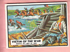 1962  TOPPS  CIVIL WAR NEWS  #66  VICTIM OF THE WAR  MINT