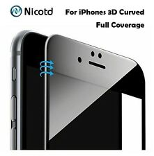 Glossy 3D Curved Carbon Fiber Soft Edge Tempered Glass Screen Protector