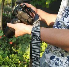 VINTAGE SLR DSLR Fotocamera Tracolla Collo Cinghia Strap per Canon Nikon Pentax Sony UK