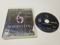 Resident Evil 6 (Sony PlayStation 3, 2012) PS3 Game Disc Only w/ Case TESTED