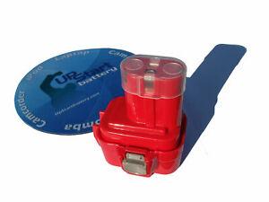 Battery for Makita 9.6V 9100 9122 9120 192638-6 9.6V 9.6 Volt 6207D 6222D New
