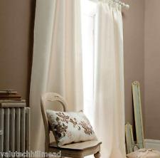 HOUSE ADDITIONS Persia Curtain Panels PAIR CREAM 229cm W x 274cm L [90X108]