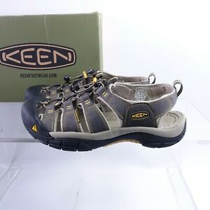 Size 11.5 Men's KEEN Newport H2 Fisherman Sandals 1008399 Raven/Aluminium