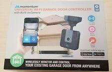Momentum WiFi Garage Door Opener Controller w/ Built-in Surveillance Camera