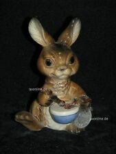 +# A001465_15 Goebel Archiv Muster Komische Tiere Hase Rabbit mit Trommel Plombe