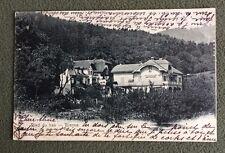 CPA. BIENNE. 39 - Ried du Bas. 1906. Belles Maisons.