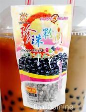 BOBA Black Tapioca Pearl Bubble Tea Ready in 5 Mins 8.8 Oz. Milk Tea,Iced Coffee
