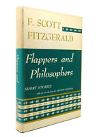 F. Scott Fitzgerald FLAPPERS AND PHILOSOPHERS  1st Thus 1st Printing