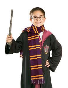 Harry Potter Striped School Boy Scarf Book Day Fancy Dress Costume OFFICIAL
