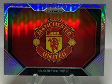 20/21 Manchester United Team Logo  Panini Premier League Silver Prizm SSP