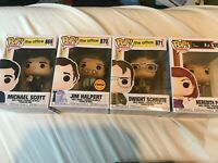 Funko Pop! TV: The Office - Dwight Schrute, Meredith, Michael & Jim chase Set